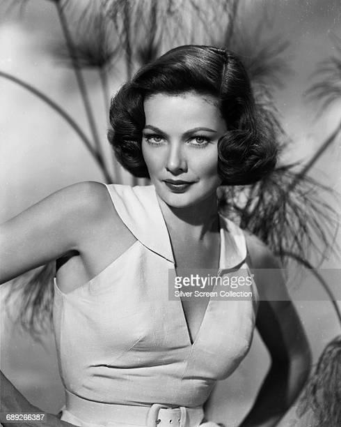 American actress Gene Tierney circa 1950