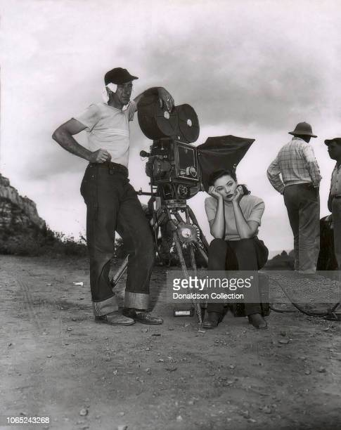 Actress Gene Tierney in a scene from the movie Leave Her to Heaven