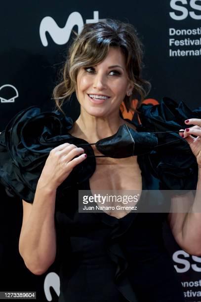 American actress Gina Gershon attends 'Rifkin's Festival' premiere during 68th San Sebastian Film Festival on September 18 2020 in San Sebastian Spain