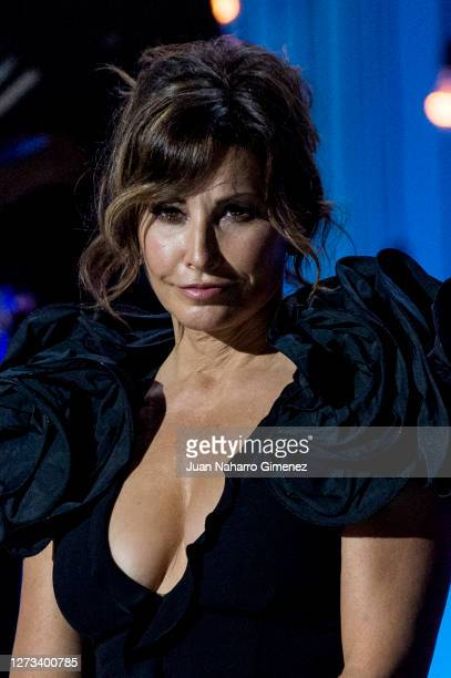 American actress Gina Gershon attends the opening ceremony of the 68th San Sebastian International Film Festival at the Kursaal Palace on September...