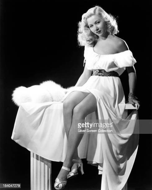 American actress Gloria Grahame circa 1947