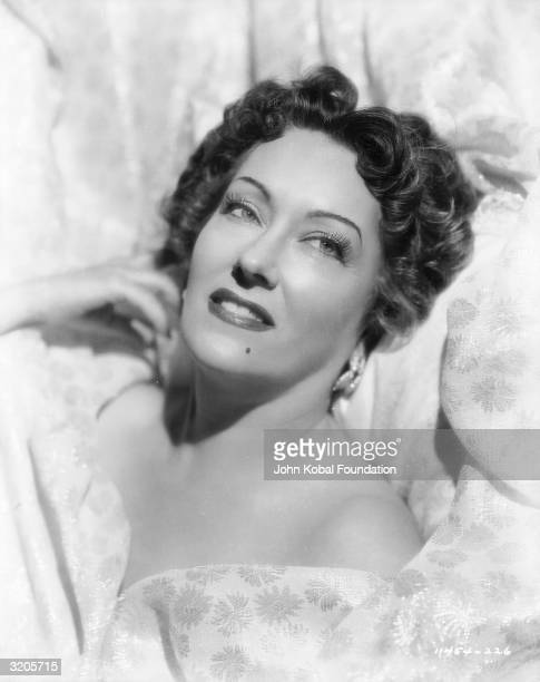 American actress Gloria Swanson stars as ageing actress Norma Desmond in 'Sunset Blvd', directed by Billy Wilder.