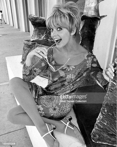 American actress Goldie Hawn 1967
