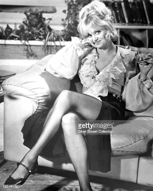 American actress Goldie Hawn as Marion in 'There's A Girl In My Soup' directed by Roy Boulting 1970