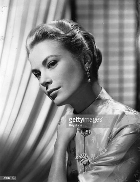 American actress Grace Kelly later Princess Grace of Monaco