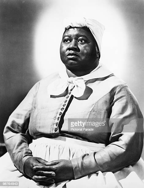 American actress Hattie McDaniel as she appeared in her role as Mammy in 'Gone With The Wind' circa 1939 McDaniel's performance won an Oscar for Best...