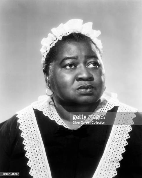 American actress Hattie McDaniel in a maid's uniform circa 1935 McDaniel won an Oscar for Best Supporting Actress for her role of Mammy in 'Gone With...