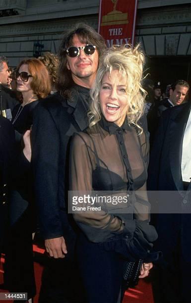 American actress Heather Locklear and guitarist Richie Sambora