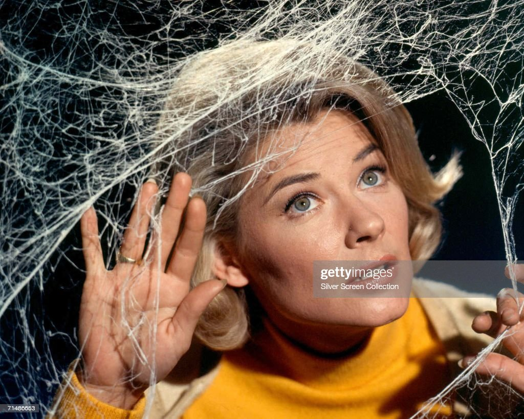 American actress Hope Lange (1931 - 2003) plays the owner of a haunted house in 1960s TV series 'The Ghost and Mrs Muir', circa 1969.