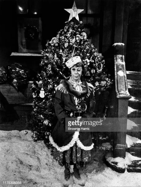 American actress Imogene Coca in a scene from the madefortelevision program 'A Special Sesame Street Christmas' New York New York December 8 1978