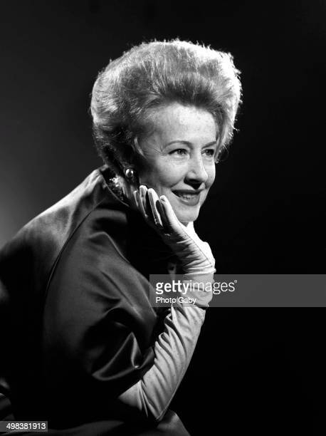 American actress Irene Dunne Los Angeles 1963