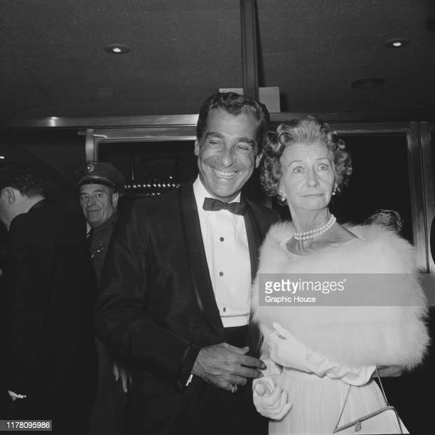 American actress Irene Ryan at the premiere of the film 'The Americanization of Emily' USA 1964
