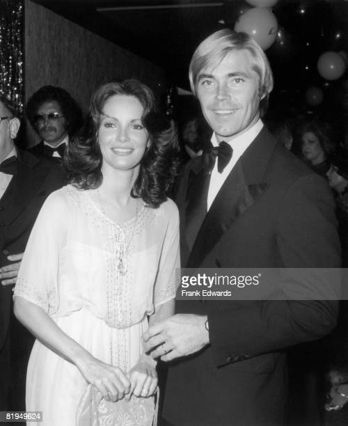 American actress Jaclyn Smith and her new husband actor Dennis Cole attend the 23rd Annual Thalians Ball at the Century Plaza Hotel in Century City...