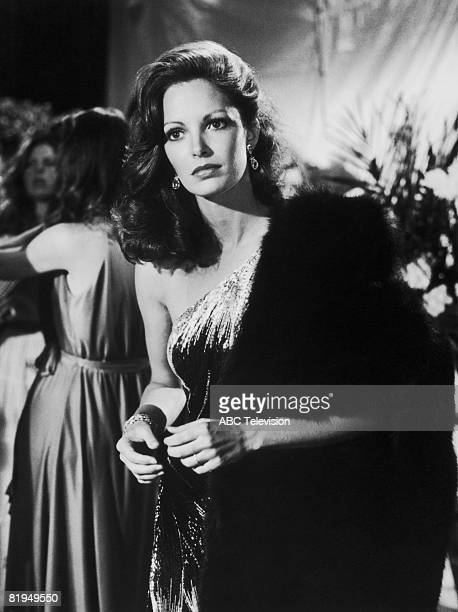 American actress Jaclyn Smith as Elena Scheider in a scene from the TV movie 'The Users' directed by Joseph Hardy 1978