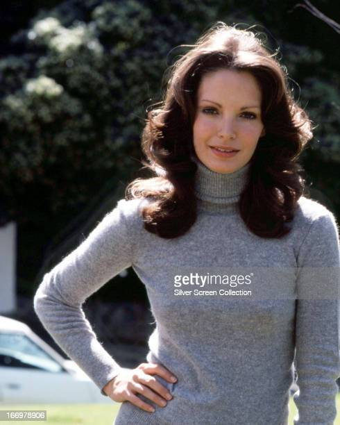 American actress Jaclyn Smith in a promotional portrait for the TV series 'Charlie's Angels' circa 1978