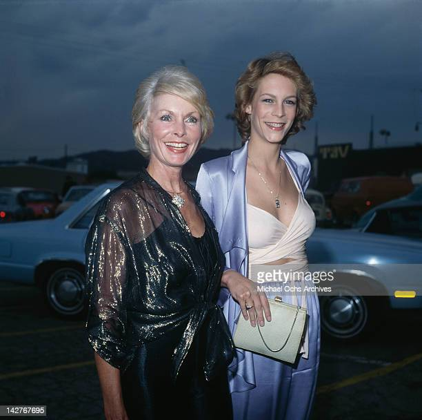 American actress Jamie Lee Curtis and her mother actress Janet Leigh attend the Photoplay Awards at the TAV Celebrity Theatre in Hollywood California...