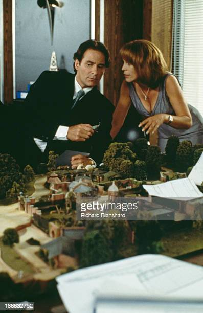 American actress Jamie Lee Curtis stars with American actor Kevin Kline in the film 'Fierce Creatures' 1997