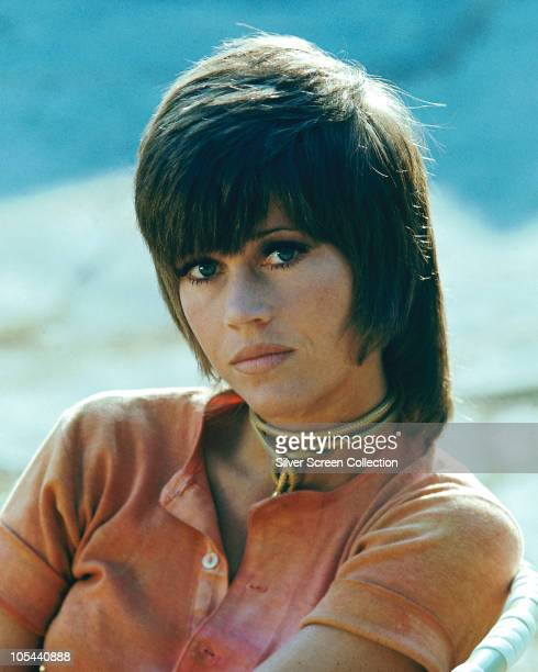 American actress Jane Fonda as callgirl Bree Daniels in 'Klute' 1971