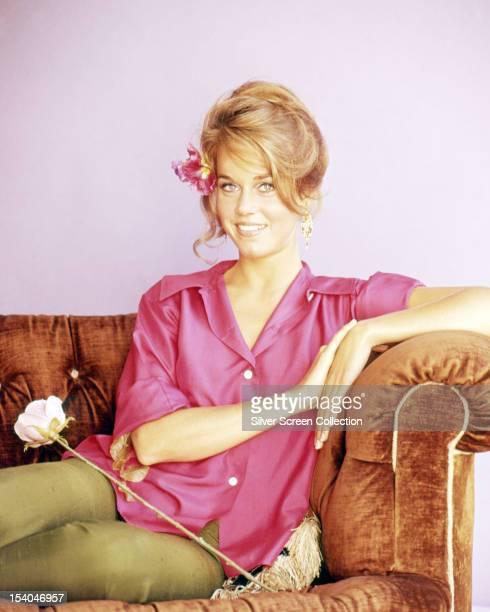 American actress Jane Fonda circa 1967
