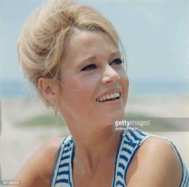 American actress Jane Fonda Hollywood USA December 1965