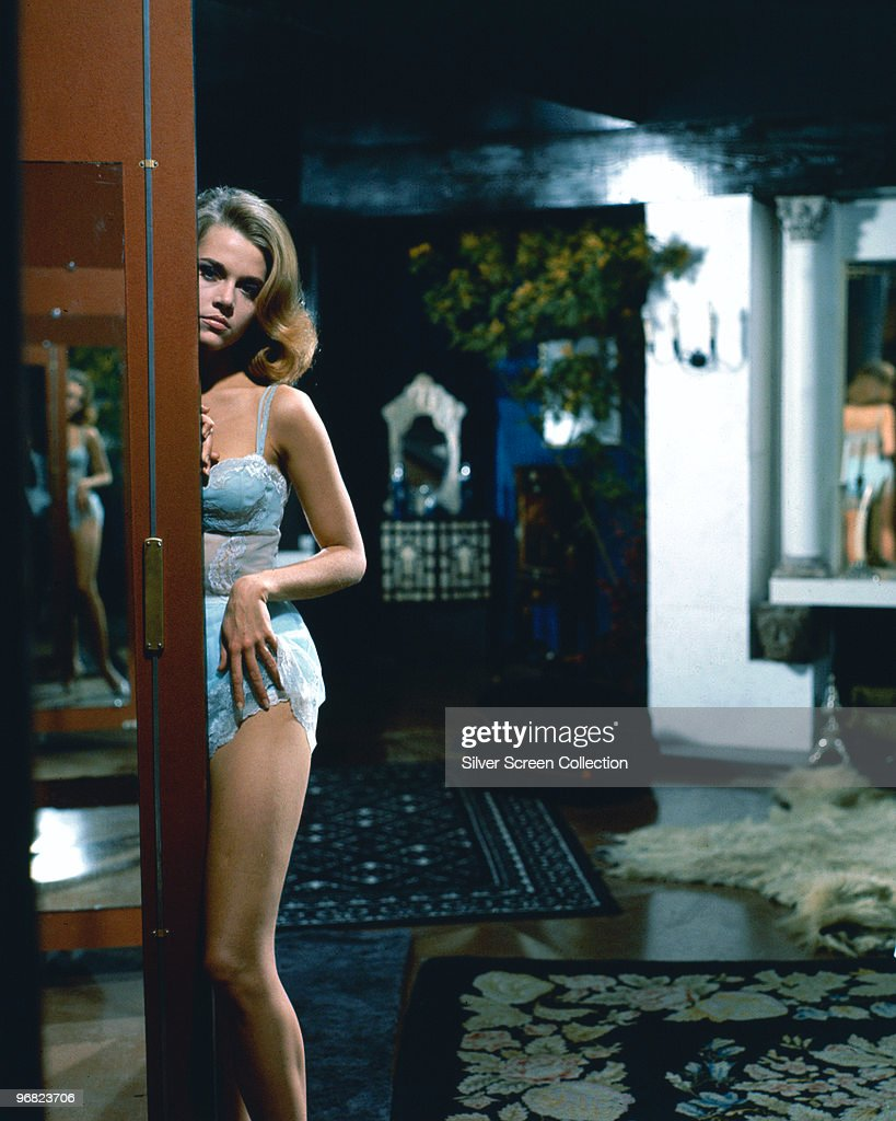 American actress Jane Fonda stars in 'Les Felins' (aka 'Joy House' or 'The Love Cage'), 1964.