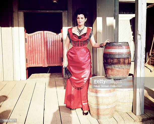 American actress Jane Russell as Nona Williams in 'Johnny Reno' directed by RG Springsteen 1966