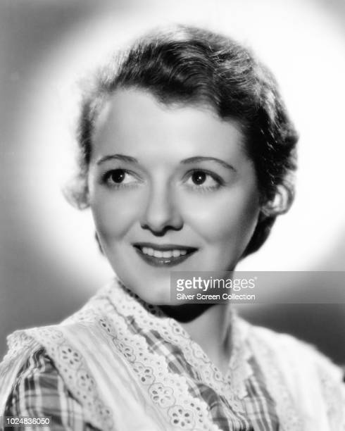 American actress Janet Gaynor as Molly Larkins in a publicity still for the film 'The Farmer Takes a Wife' 1935
