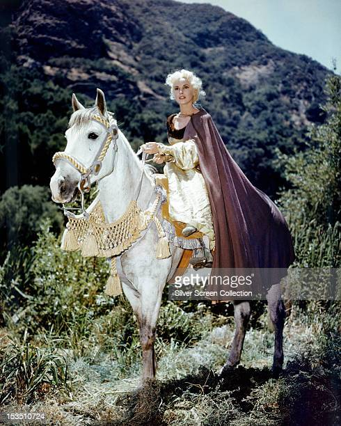 American actress Janet Leigh as Princess Aleta in 'Prince Valiant', directed by Henry Hathaway, 1954.