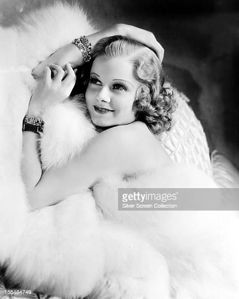 American actress Jean Harlow circa 1930