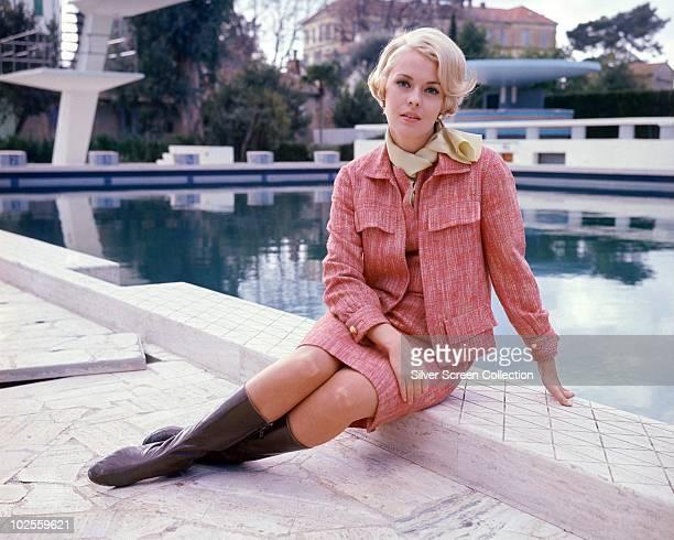 American actress Jean Seberg , circa 1965.