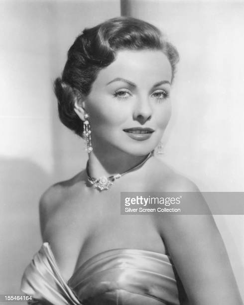 American actress Jeanne Crain circa 1945