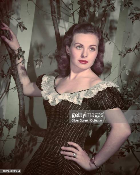 American actress Jeanne Crain circa 1950