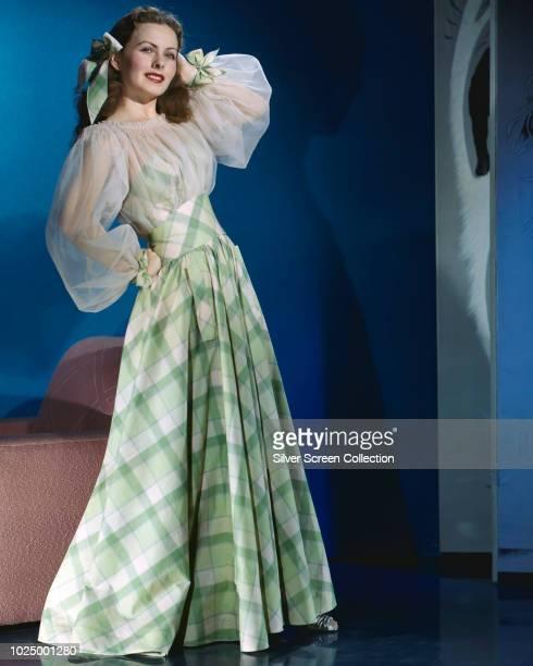 American actress Jeanne Crain , circa 1950.