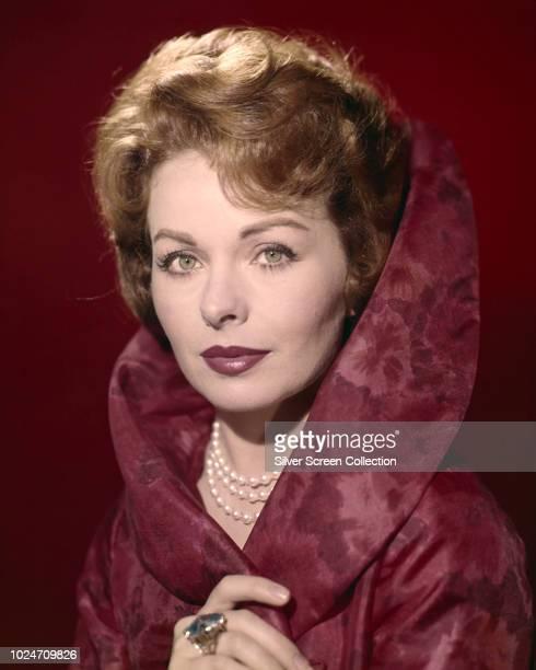 American actress Jeanne Crain , circa 1955.