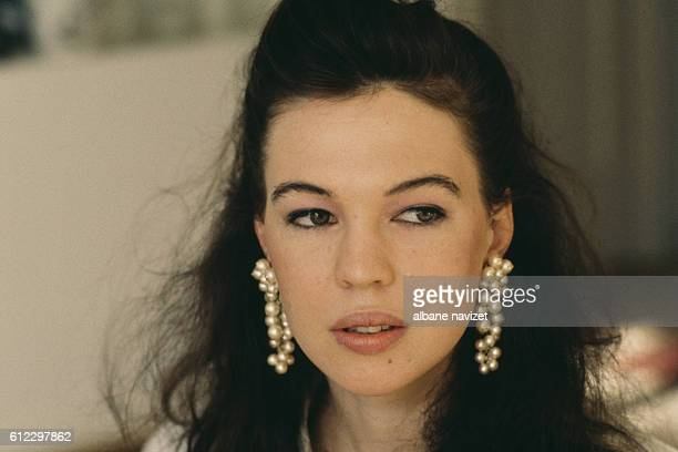 American actress Jennifer Caron Hall, daughter of French actress and dancer Leslie Caron and British director, scrennwriter, producer and actor Peter...