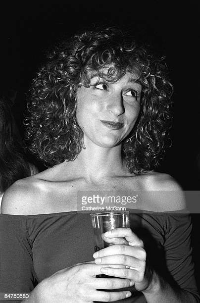 """American actress Jennifer Gray poses for a photo at a party for the premiere of her film """"Dirty Dancing"""" in August 1987 in New York City, New York."""