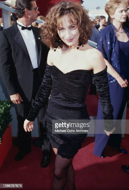 American actress Jennifer Grey at the 60th Academy Awards in Los Angeles California 11th April 1988