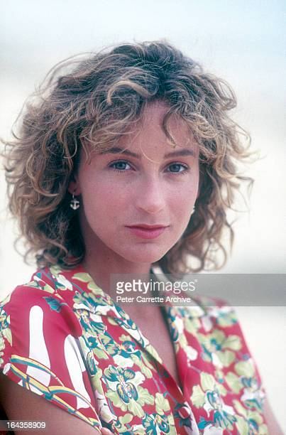 American actress Jennifer Grey in 1980s in New York City