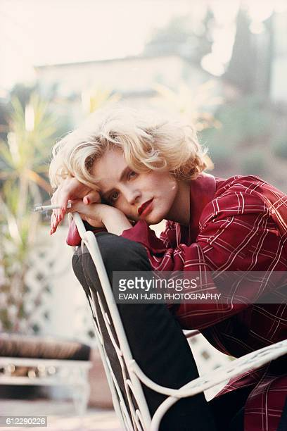 American actress Jennifer Jason Leigh