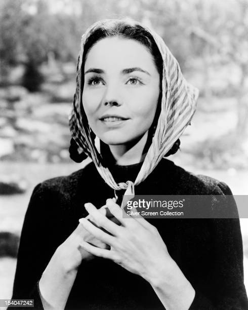 American actress Jennifer Jones as Bernadette Soubirous in 'The Song of Bernadette' 1943