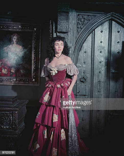American actress Jennifer Jones as Hazel Woodus in 'Gone to Earth' directed by Michael Powell and Emeric Pressburger 1950
