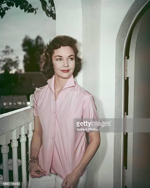 American actress Jennifer Jones circa 1955