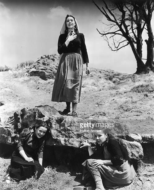 American actress Jennifer Jones in a scene from the film 'The Song Of Bernadette'