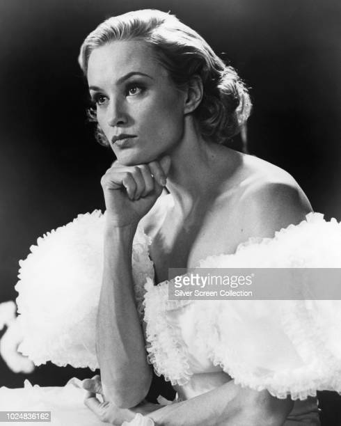 American actress Jessica Lange as actress Frances Farmer in the biopic 'Frances' 1982