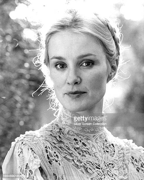 American actress Jessica Lange as Frances Farmer in the biopic 'Frances' directed by Graeme Clifford 1982