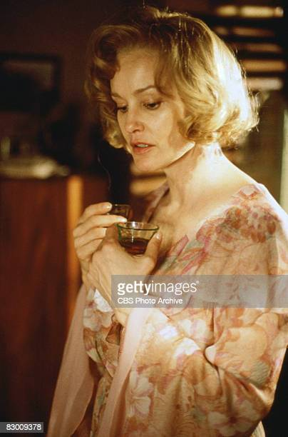 American actress Jessica Lange in a scene from the television production of 'A Streetcar Named Desire' the Pulitzer Prizewining play by Tennesse...