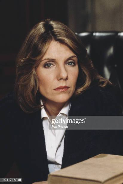 American actress Jill Clayburgh as Associate Justice Ruth Loomis in the comedy film 'First Monday in October' 1981