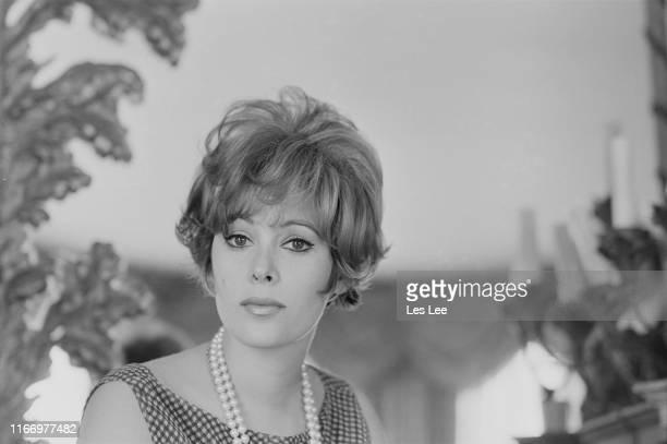 American actress Jill St John, UK, 1st April 1965.