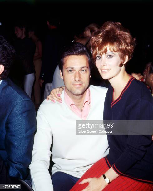 American actress Jill St John with American singer Jack Jones circa 1967