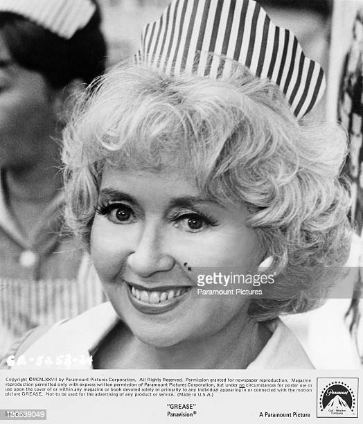 American actress Joan Blondell as waitress Vi in the Paramount musical 'Grease' 1978